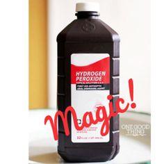 hydrogen peroxide magic
