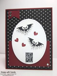 Bats About You, DD84 & SSSC200 by stampwithsandy - Cards and Paper Crafts at Splitcoaststampers