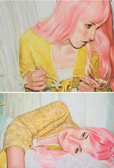 paintings by annaclara di biase