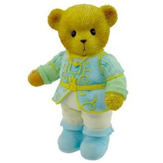 Cherished Teddies Prince Charming Teddy Bear Limited Love - Resin 3.25 IN New with box- Artist: Priscilla Hillman- True Love Is So Charming- Limited to 5,000 Pieces (Barcode EAN = 0045544103770). http://www.comparestoreprices.co.uk/december-2016-3/cherished-teddies-prince-charming-teddy-bear-limited-love--resin-3-25-in.asp
