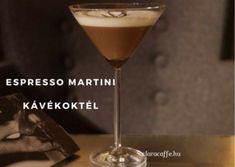 Az espresso martini egy finom kávékoktél, amit otthon is könnyen elkészíthetünk. Espresso Martini, Tableware, Dinnerware, Tablewares, Dishes, Place Settings
