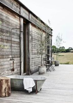my scandinavian home: 16 Beautiful Outdoor Bath and Shower Ideas