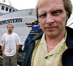 Deadliest Catch Captain Sig Hansen(front) Edgar Hansen(back)