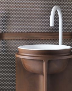 Falper Collections at Maison & Objet - Substantial textures define the bathroom spaces