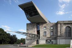 Архивно-документационный центр Гюнтера Доменига в нюрнбергском Зале съездов Национал-социалистической партии.
