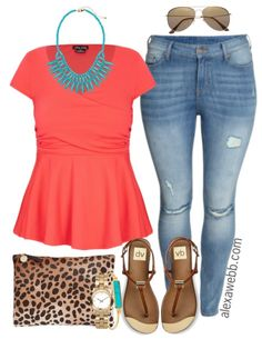 Here are some awesome plus size summer outfit ideas in bright colors!  To me, summer is all about color!  Make sure your colors pop by using color theory.  You can find my brief explanation here.  My favorite complementary colors are coral and turquoise, hot pink and grass green, and bright orange-yellow with blue-violet.  These combos… Read More