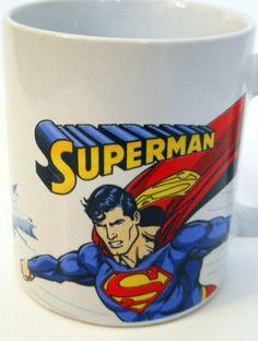 "Superman Flying Coffee Mug Red Yellow ""S"" Man of Steel Letters Cape Blue 2009 Superman, DC Comics, Trevco http://www.amazon.com/dp/B01970X1VS/ref=cm_sw_r_pi_dp_raEAwb07H07GR"