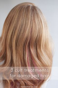 3 cult products that will save your damaged hair