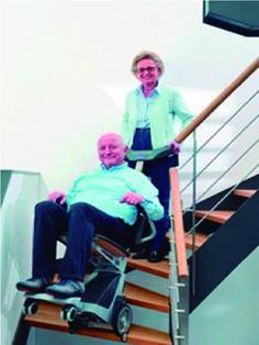 En Serretecno podrá encontrar la solución portátil para superar las escaleras