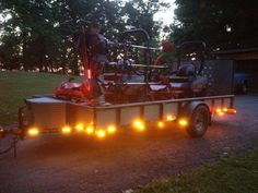 Our Clearance Marker #LEDs on the back of a trailer. We love when our customers share their photos with us! http://www.maxxima.com