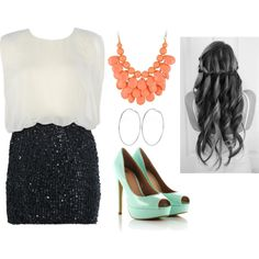 """""""Night out with the girls"""" by lydiahuck on Polyvore"""