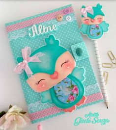Diy Home Crafts, Crafts For Kids, Foam Crafts, Paper Crafts, Cute Journals, Cowgirl Party, Cute School Supplies, Do It Yourself Crafts, Scrapbook Albums