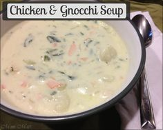 Chicken and Gnocchi Soup - Olive Garden Inspired Recipe