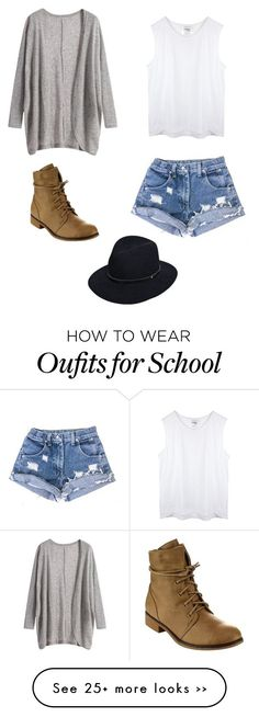 """School"" by carolinebarker19 on Polyvore"