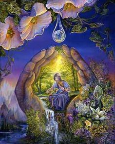 Welcome to the website of the fantasy artist Josephine Wall Josephine Wall, Mother Earth, Mother Nature, Fantasy World, Fantasy Art, Art Expo, Art Visionnaire, Fantasy Paintings, Fairy Paintings