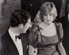 Princess Diana Rare Original Press Photo 1st Public Appearance After William