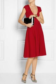 Donna Karan|Wool-blend dress