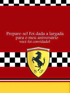 Tudo Festas: Kit Ferrari
