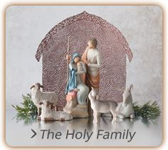 The Holy Family Willow Tree Nativity #willowtree #christmas #holiday #nativity