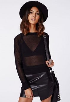 Bronwyn Fine Knit Zip Back Jumper Black