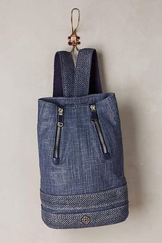 Rafe Denim Backpack Dark Denim All Bags Denim Backpack, Denim Bag, Leather Backpack, Sewing Jeans, Fashion Bags, Womens Fashion, Female Fashion, Suit Accessories, Unique Bags