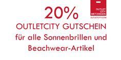 Sonnenbrillen & Beachwear mit 20 % Rabatt bei OUTLETCITY