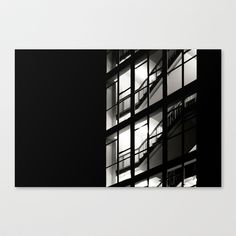 Windows Stretched Canvas by Anja Hebrank - $85.00  #birmingham #window #windows #uk #england #architecture #old #vintage #streetphotography #canon #present #decoration #interior #bnw #blackwhite #travelling #travelphotography #design #individual #society6 #print #art #artprint #interior #decoration #design #canvas