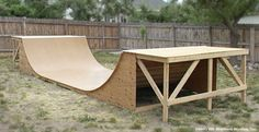Build Your Own Skate Ramp