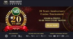 When it comes to birthday Celebrations, you're guaranteed the biggest celebrations at Vegas Crest, all year long. To celebrate 20 years of Vista Gaming, the power behind Vegas Crest's great Casino, it is giving away an incredible $240,000 worth of prizes in its 20 years anniversary casino tournament, that's $20,000 in prizes to be won every month! #CBT #UKOnlineCasino #NoDepositBonusCode #OnlineCasino #MobileCasino