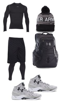 """Untitled #146"" by jamison24 on Polyvore featuring Under Armour, men's fashion and menswear"