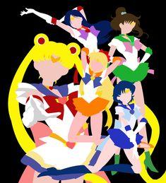 Minimalist - Sailor Moon