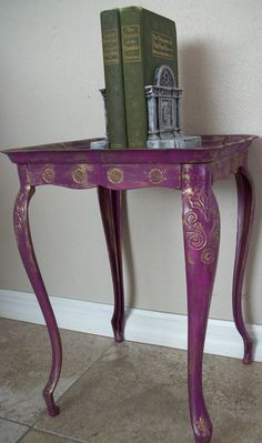 i wanna paint all of my furniture.