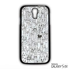 cats illustration for Samsung Galaxy S3/4/5/6/6 Edge/6 Edge Plus phonecases