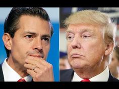 """BERLIN WALL Tribute- Donald Trump meets with Mexican President Nieto over """"Wall"""", August 31, 2016  All Presidents Are Globalists. All Are Scumbags. All Nations are occupied."""