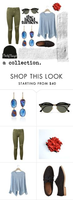 """""""#1"""" by bensgirly ❤ liked on Polyvore featuring Lauren K, Ray-Ban, Current/Elliott, Chicwish, Gap and Warner Bros."""