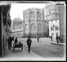 Plaza de Los Apostoles Murcia 1907. Foto 14 (Fondo Burdinola)