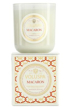 PURCHASED - Voluspa 'Maison Blanc - Macaron' Boxed Candle available at #Nordstrom