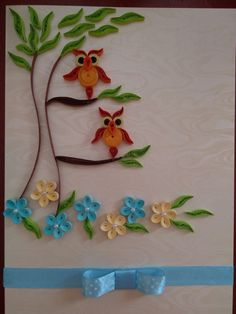 Quilling_sowy_drzewo