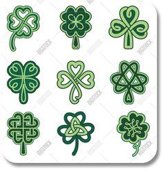 Irish Tattoo Designs - Shamrock Designs