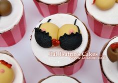 ✩ Check out this list of creative present ideas for people who are into cooking Cupcakes For Men, Love Cupcakes, Party Cupcakes, Cupcake Icing, Cupcake Art, Cupcake Cookies, Sexy Cakes, Girly Cakes, Bachelor Cake