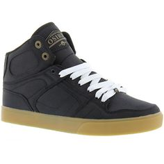 Osiris NYC 83 VLC DCN Men's Black Skate 12 M ($70) ❤ liked on Polyvore featuring men's fashion, men's shoes, men's sneakers, black, mens black shoes, mens lace up shoes, mens sneakers, mens black sneakers and mens shoes