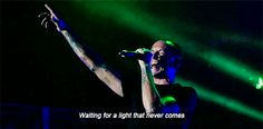 Linkin Park - A Light That Never Comes gif.