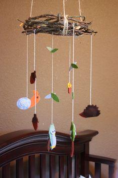 woodland nursery mobile