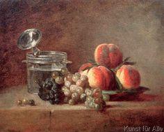 Jean-Baptiste-Siméon Chardin - J.B.S.Chardin, Die Kristallschale