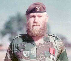 Piet Van Der Riet. Another recipient of the Rhodesian Bronze Cross. Also held the rank of WO2.