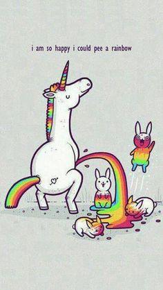 I'm So Happy I Could Pee A Rainbow (LOL) #mobile9