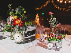 Sweet and simple table decor.