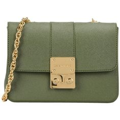 Designinverso Cross-body Bag (365 BRL) ❤ liked on Polyvore featuring bags, handbags, shoulder bags, military green, green satchel, satchel crossbody, satchel handbags, satchel crossbody bag and crossbody shoulder bag