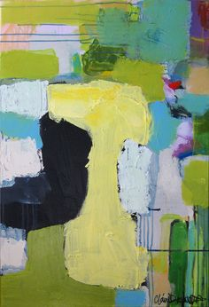 abstract by Claire Desjardins Another beautiful piece!