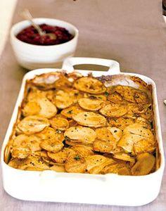 Yukon Gold and Sweet Potato Gratin